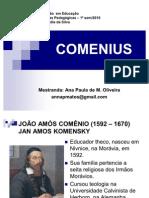 Comenius e a Escola Moderna