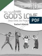 We Celebrate God's Love Gr. 10 (TM)