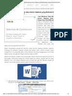 Cara Membuat Page Number Atau Nomor Halaman Yang Berbeda Dalam Satu File Di Microsoft Word