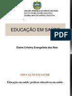 Aula Educação Em Saúde - PDF