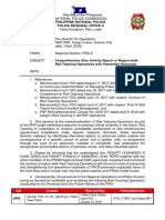 10 Comprehensive After Activity Report Re Region-wide Red Teaming Operations With Simulation Exercises