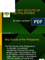 The Structure of the World Organization of Scout Movement and the Boy Scouts of the Philippines p (1)