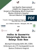 Análise de gasometria arterial