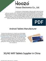 Shenzhen Hoozo Electronics Co