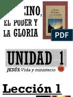 La vida y ministerio de Jesús
