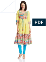 Rain and Rainbow Women's Straight Kurta 002