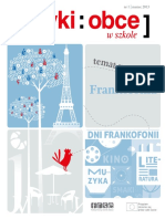 Jezyki Obce czasopismo dla nauczycieli JOwS_01_2013