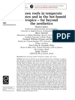 2002 - Green Roofs in Temperate Climates and in the Hot‐Humid Tropics – Far Beyond the Aesthetics