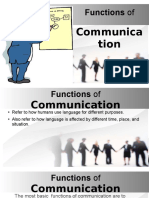 Functions of Communication.odp