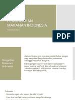 Prinsip Pengolahan Makanan Indonesia