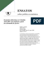 Economia Subterranea en Colombia