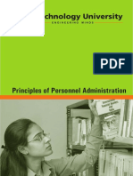 Principles of Personnel Administration