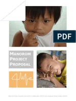 Manorom Project Proposal