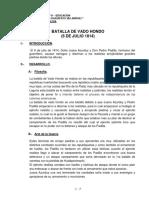 Batalla de Vado Hondo