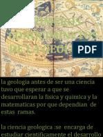 primeros conocimientosde geologia