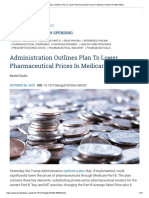 Administration Outlines Plan to Lower Pharmaceutical Prices in Medicare Part B _ Health Affairs