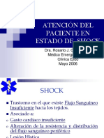16. Atención Del Paciente Con Shock