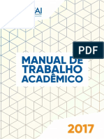 Manual Trabalho Academico 2017-2 UNIFAI