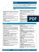 Go Language Cheat Sheet