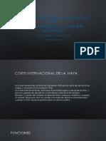 Corte Internacional de Justicia de la Haya.pptx