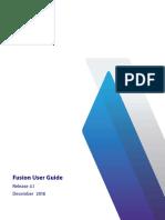 Fusion User Guide 4.1