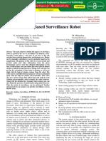 Iot Based Surveillance Robot IJERTV7IS030061