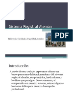 000 Sistema Registral Alemán