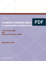 JSRP Paper8 Climate Change and Conflict Forsyth Schomerus 2013