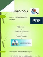 Generalidades Epidemiología