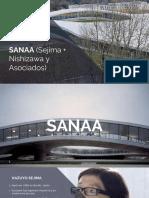 Sanaa Introducción a La Arquitectura 1