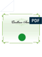 Microsoft Office Excellence Award