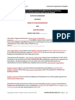 C3 1 Contractors Agreement Template