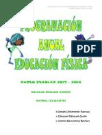 Programación Didáctica LOMCE Educación Física ANDALUCÍA