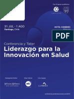 Liderazgo e Innvaci n en Salud Conferencia Chile 1564403192