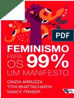 Feminismo Para Os 99 Um Manifesto