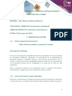 3.  Protocolo Proyecto