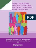 Guia de prevención de situaciones de violencia en instituciones
