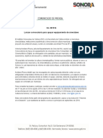 05-08-2019 Lanzan convocatoria para apoyar equipamiento de cineclubes