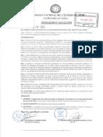 Reglamento General de La Oficina de Bienestar Universitario de la UNCP