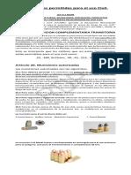 Municiones Autorizadas - Rdp
