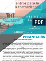 Mes de La Familia - Costa Rica - 2019