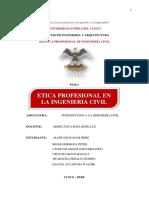 Etica en La Ingenieria Civil Monografia