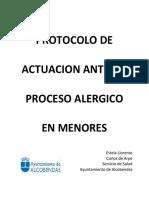 Actuacionante Un Proceso Alergico