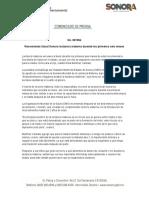 01-08-2019 Recomienda Salud Sonora lactancia materna durante los primeros seis meses