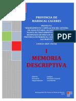 01.- Memoria Descriptiva