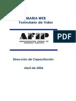 Om Formulario de Vallor - 20130415-Afip-Formulariodevalorcargaweb