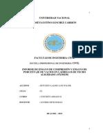 Informe de Concreto Armado II
