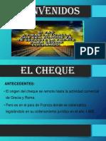 EL CHEQUE 1