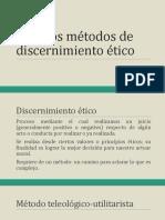 334439370 06 Metodos de Discernimiento Etico