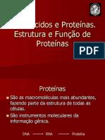 Aminoacidos e Proteinas. Generalidades Isptec 2018-1